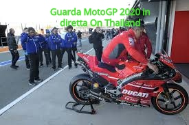 Guarda MotoGP 2020 in diretta On Thailand
